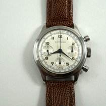 Wittnauer Chronograph stainless steel Valjoux 72 1950's