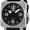 Bell &amp; Ross Aviation Black Dial Steel Case Automati...
