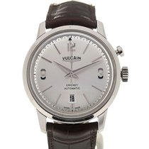 Vulcain 50s Presidents' Watch 42 Automatic Silver-toned Dial