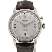 Vulcain 50s Presidents'Watch 42 Automatic Silver-toned Dial