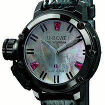 U-Boat Chimera Auto 40 IPB Black Mother of Pearl Limited Edition