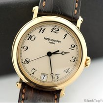 Patek Philippe Officer Automatic 18k Yellow Gold 5053