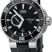 Oris Diver Aquis Titan Small Second Date 743.7664.7154.RS