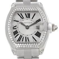 Cartier Roadster 18k White Gold Diamond Ladies Watch We5002x2