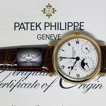 Patek Philippe 5054 18k Gold Complications Officers Watch...