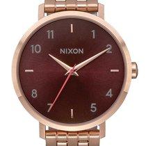 Nixon A1090-2617 Arrow All Rose Gold Brown 38mm 5ATM