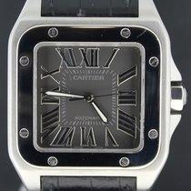 Cartier Santos 100 XL Steel, Grey Dial special edition
