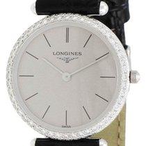Longines Classique Agassiz 18kt White Gold & Diamond...