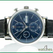 IWC Portofino Chronograph Laureus blue lim