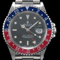 """Rolex GMT-Master """"PEPSI"""" Stahl aus 1999 LC100  New..."""