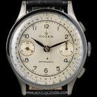 Rolex S/S Manual Wind Silver Dial Chronograph Antimagnetic 2508