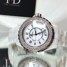 Chanel J12 33mm White Diamond Bezel