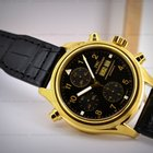 IWC Pilot Double Chronograph 18K Yellow Gold