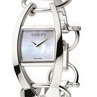 Gucci 123 Chiodo YA123501 Chiodo Ladies Pearl Dial Watch