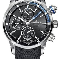 Maurice Lacroix Pontos S Chronograph,Blue Details, Rubber and...