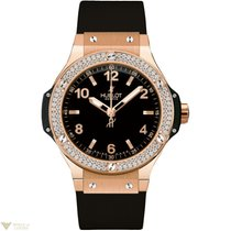 Hublot Big Bang 44 mm 18K Rose Gold Diamonds Men`s Watch