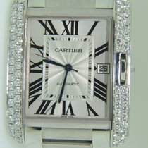 Cartier Tank Xl biggest size,Factory setted diamonds
