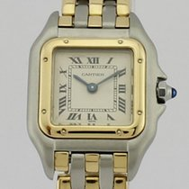 Cartier PANTHERE GOLD AND STEEL QUARTZ LADIES 1057917