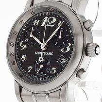 Montblanc Meisterstück Chronograph Quarz Stahl Ref. 7038