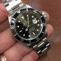 Rolex Submariner Date 16610 T D Stainless Steel Black 40mm D