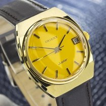Orient Jupiter Ss And Gold Plated Manual Mens Vintage Swiss...