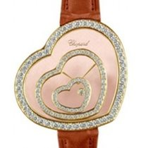 Chopard 20/9056 Happy Heart in Yellow Gold Diamond Bezel - on...