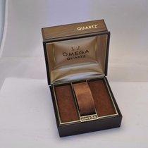Omega Quartz Uhrenbox Uhrenetui Schachtel