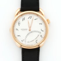 Hermès Rose Gold Arceau Le Temps Suspendu Watch Ref. AR8.970