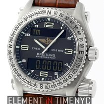 Breitling Emergency Titanium 43mm Black Dial