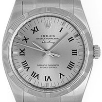 Rolex Air-King Men's 34mm Stainless Steel Watch 114210