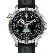 Hamilton Khaki Aviation Worldtimer Quartz Chrono H76714335