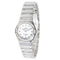 "Omega Constellation ""My Choice"" Diamond, Steel BLACK..."