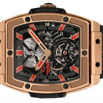 Hublot Masterpiece-06 Senna Tourbillon 18K Solid Rose Gold