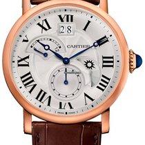 Cartier Rotonde Retrograde Automatic Mens Watch W1556240