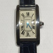 Cartier Tank Americaine oro bianco 18kt