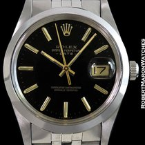 Rolex Oyster Perpetual Date 15000 Black Dial Steel