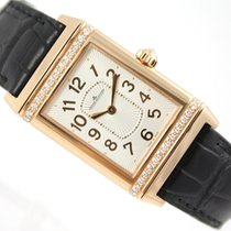 Jaeger-LeCoultre GRANDE REVERSO 18CT ROSE GOLD & DIAMONDS...