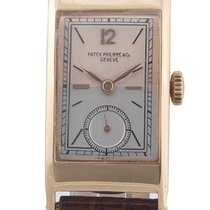 Patek Philippe Gold Rectangular Gondolo