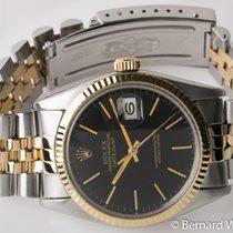 Rolex - Datejust : 16013 black dial on Jubilee bracelet