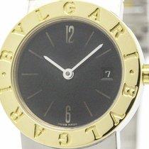 Bulgari Polished  - 18k Gold Steel Ladies Watch Bb26sgd...