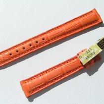 Chopard Croco Band Starp Orange 14 Mm 70/105 New C14-11 -70%