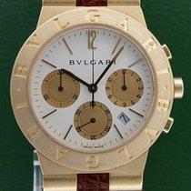 Bulgari Diagono 35mm Date Chronograph 18k Yellow Gold 2YRS ...