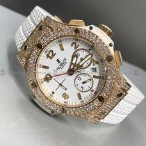 Hublot - Big Bang 301 Customized Diamond White Dial RG
