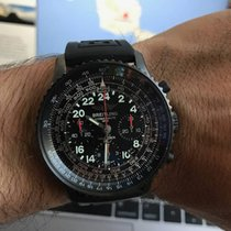 Breitling Navitimer Cosmonaute Blacksteel Limited Edition...