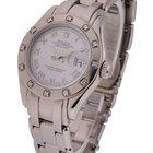 Rolex White Gold Ladies Masterpiece 80319 - 12 Diamond Bezel -...