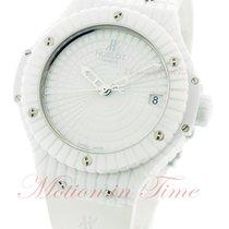 Hublot Big Bang 41mm All White Caviar - White Ceramic on Strap