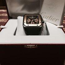 Cartier Santos 100 XL - TI - Gold Chronograph