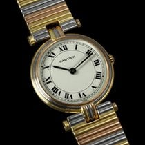 Cartier Vendome Ladies Trinity Watch - Solid 18K Gold