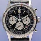 Breitling Navitimer Chronograph Vintage 1974 Fullset Stahlband...