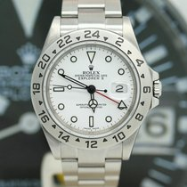 Rolex Explorer II Stahl Ref :16570T von 2003 Rolex Box